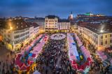Weihnachtsmarkt in Bratislava, Slovakei