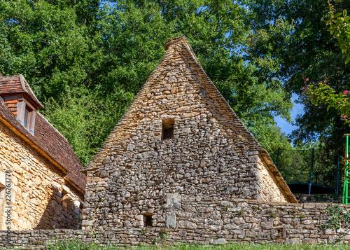 Foto Murales Détail d'architecture, Dordogne