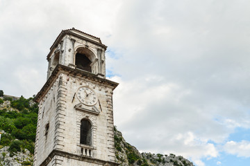 Church of Saint Tryphon in the old town of Kotor
