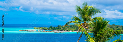 Leinwanddruck Bild Bora Bora