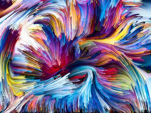 Koncepcyjne Fused Colors