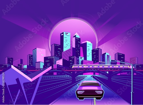 Night Neon City - 226298524