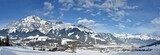 Leogang Winter Panorama
