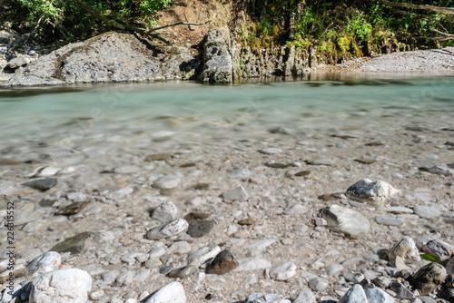 Foto Murales Tarcento, stony banks of the Torre river
