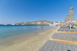 Ornos beach and village - Mykonos island - Aegean sea - Greece - 226316910