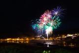Fireworks over Clifden Quay