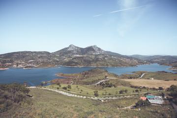 Panorama view over lake 3 © Lars