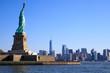 Statue de la liberté et Manhattan