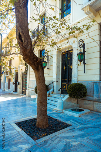 Street of the Greek capital city of Athens