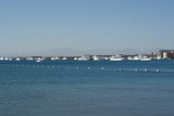 Marina port for small yachts and motorboats in Hurghada Egypt Red Sea perfect coral riffs diving location - 226387189