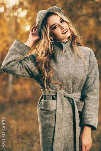 Leinwandbild Motiv grey colors in fashion