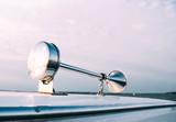 horn on the ship yacht. chrome signal. - 226410179