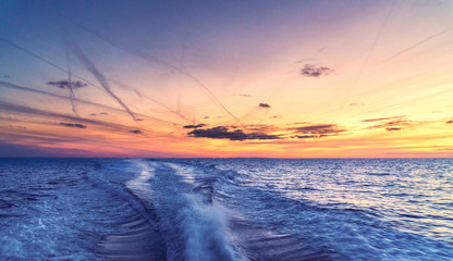 Sunset On The Baltic Sea © GM Photography