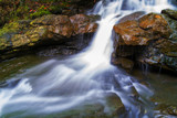 Appalachian Forest Waterfall Autumn Season