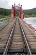 Railroad bridge at Carcross, Yukon Territory, Canada