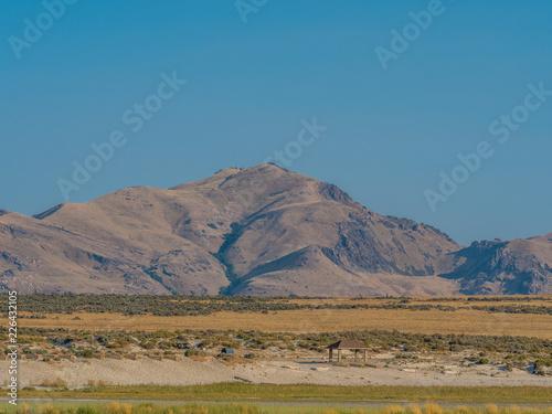 Landscape of Antelope Island State Park
