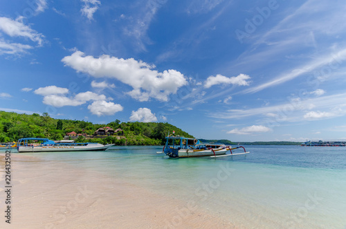 Fototapeten Strand tropical beach in indonesia