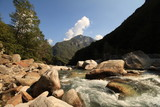 Im wilden Tal der Verzasca bei Locarno