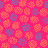 seamless pattern with abstract dots ornament