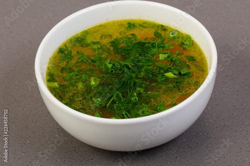 Fish soup Uha - 226458702