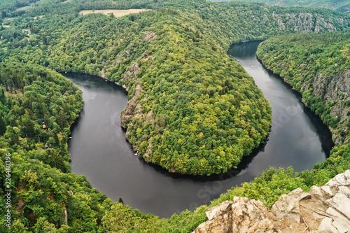 Foto Murales river meander