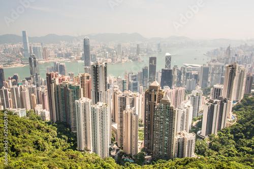 fototapeta na ścianę Hong Kong, a general view of the island
