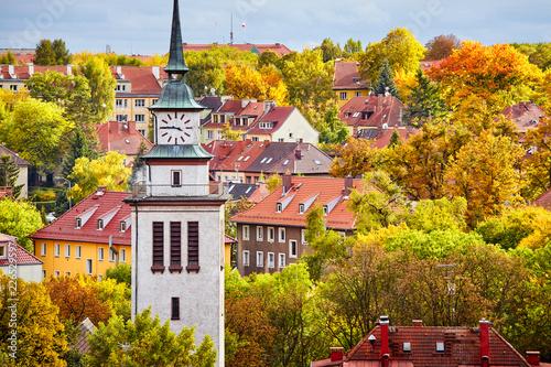 Szczeciński pejzaż w kolorowej jesieni, Polska
