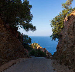 road in the canyon © Алексей Александров