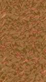 Graphic illustration - liquid pattern dark orange color. Modern abstract background. Design wallpaper. 3D illustration