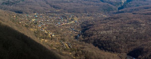 Village in the mountains © Robinbob