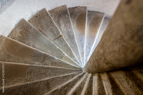 Escalier du Château de Val