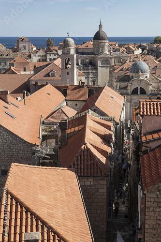 Fridge magnet Dubrovnik in Croatia, Balkans, Europe