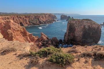 Coast at Pontal Carrapateira near Bordeira at the West Coast of Portugal © mmuenzl