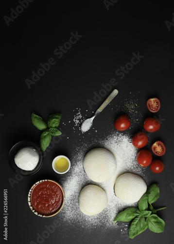Poster ingredienti pizza