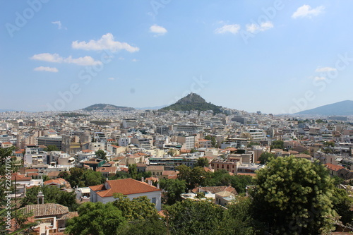 panoramic view of athens - 226571706