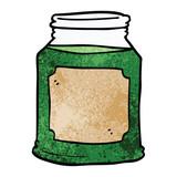 cartoon doodle liquid in a jar - 226585371