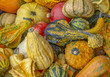 Leinwandbild Motiv decorative gourds