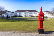 Leinwandbild Motiv Bellevue Palace (Schloss Bellevue) in Berlin, Germany