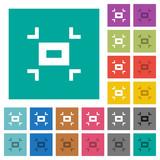 Small screen square flat multi colored icons - 226609993