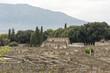 Quadro The ruins of pompeii italy
