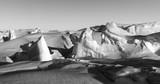 Ice formations (pressure ridges) in Antarctica