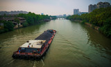 Scenery of the Hangzhou section of the Grand Canal - 226658123