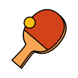 ping pong sport icons - 226663705