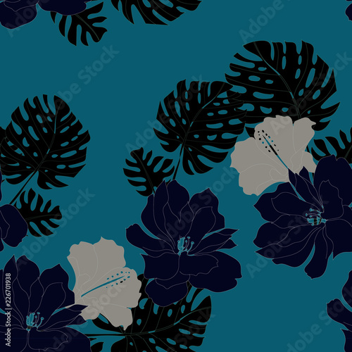 Beautiful seamless floral pattern background. - 226701938