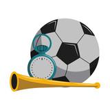 Soccer sport game cartoons