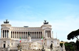 The great monument in white marble called