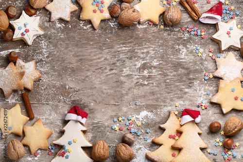 Foto Murales Christmas cookies