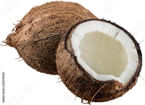 Foto Murales Opened coconut