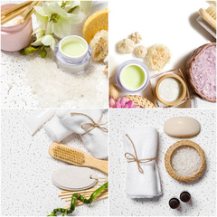various spa accessories © fotofabrika