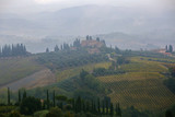 Tuscany after rain - view from San Gimignano